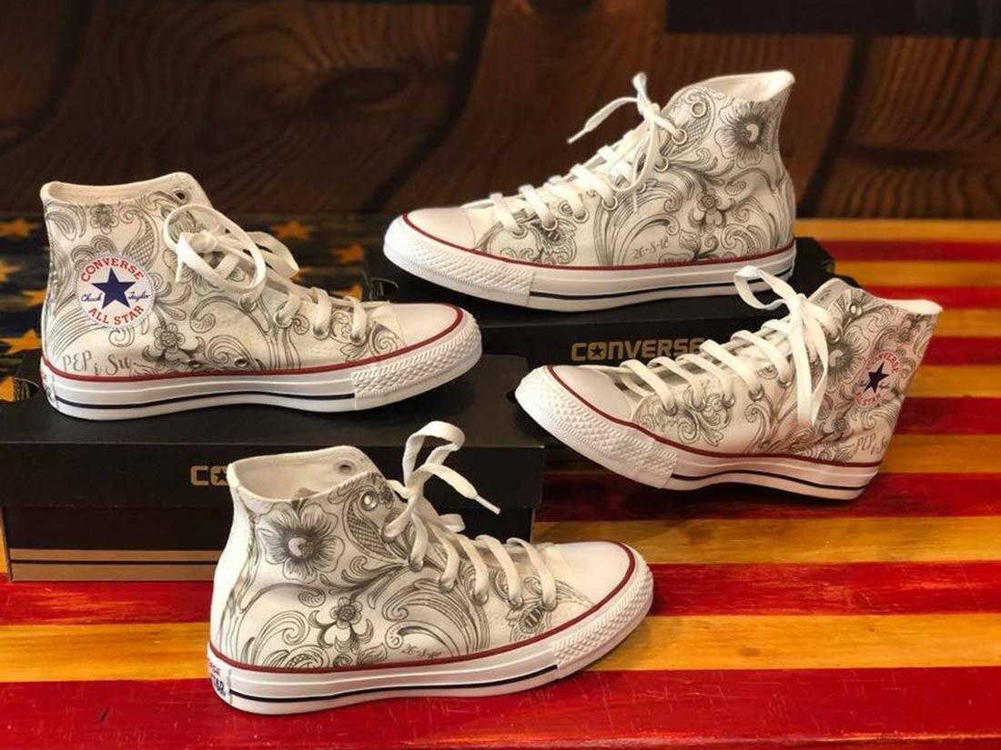 Zapatillas personalizadas Converse