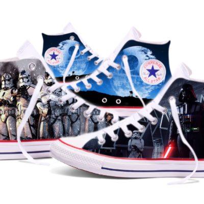 Converse personalizadas Star wars