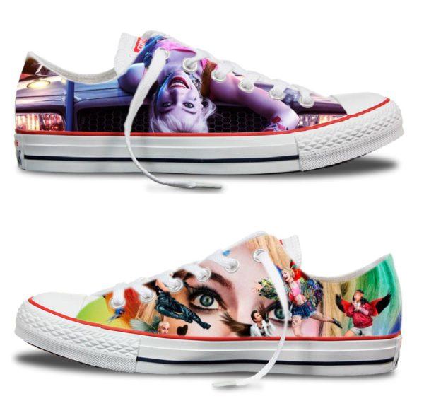 Zapatillas personalizadas Converse Harley Quinn