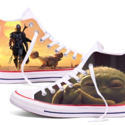 Zapatillas personalizadas Converse Mandalorian
