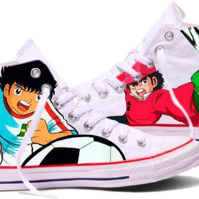 Zapatillas personalizadas Converse Oliver y Benji