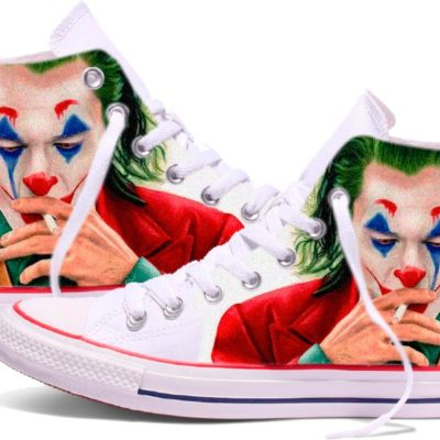 Zapatillas personalizadas Converse The Joker