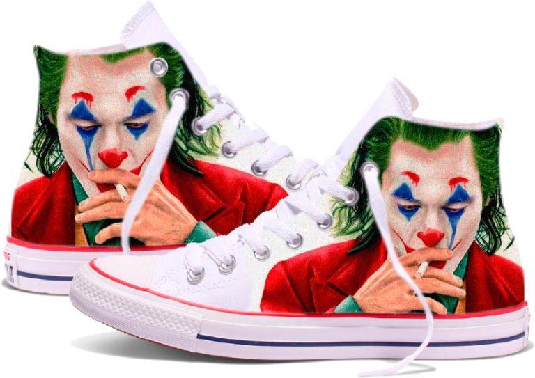Zapatillas personalizadas Converse The Joker