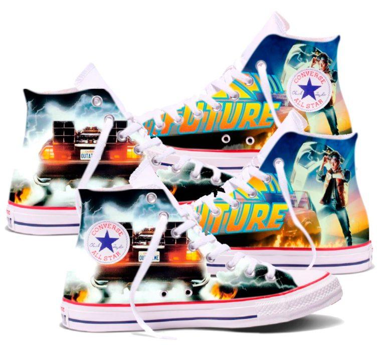 Zapatillas personalizadas Converse Regreso al Futuro