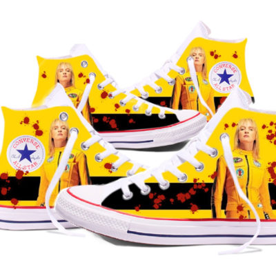 Zapatillas converse personalizadas Kill Bill
