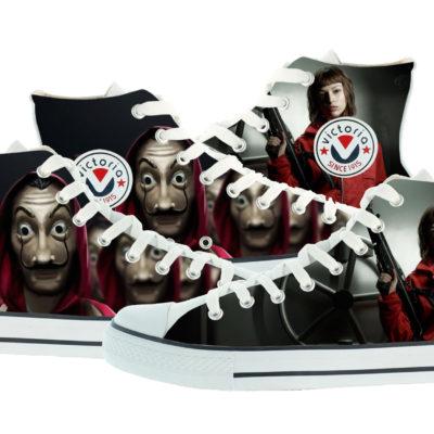 Zapatillas personalizadas Victoria la cas de papel