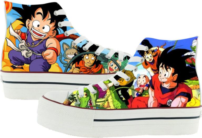 Zapatillas Victoria personalizadas Dragonball
