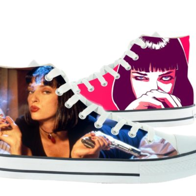 Zapatillas personalizadas Victoria Pulp fiction