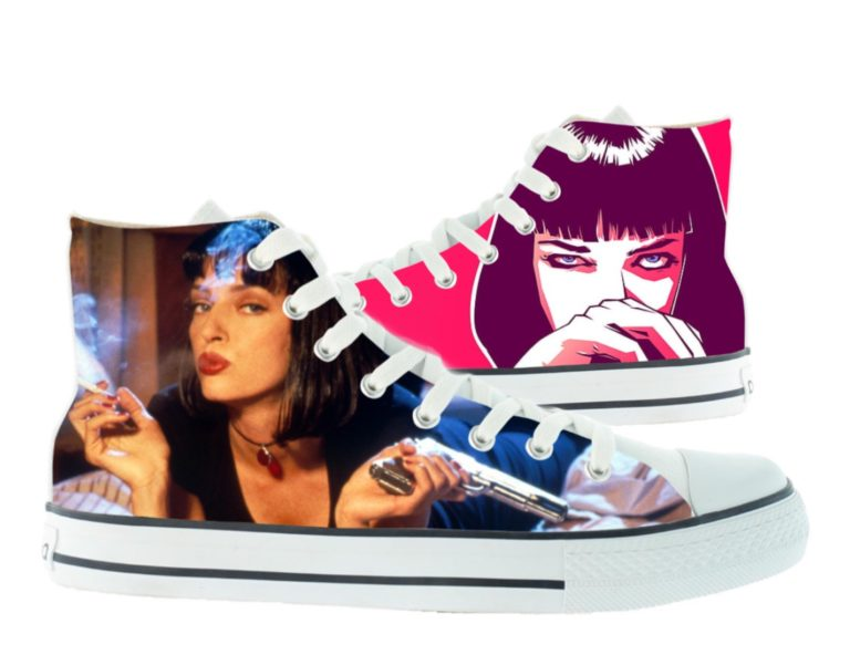 Zapatillas personalizadas Victoria Pulp fiction