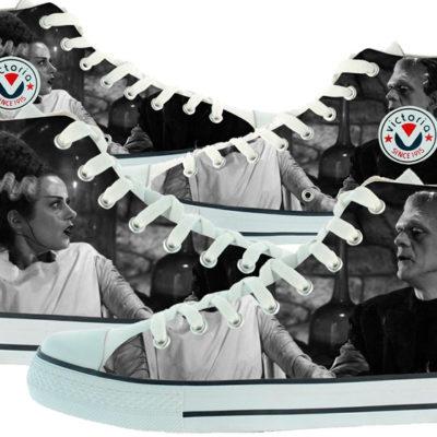 Zapatillas personalizadas Victoria Frankenstein Bride