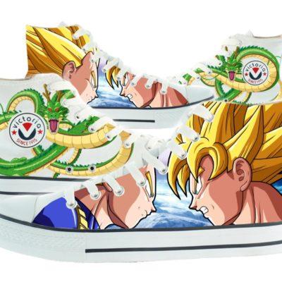Zapatillas personalizadas Victoria Goku vs Vegeta