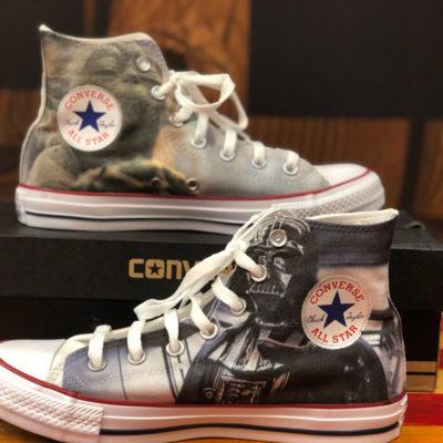 Zapatillas personalizadas Converse Star Wars