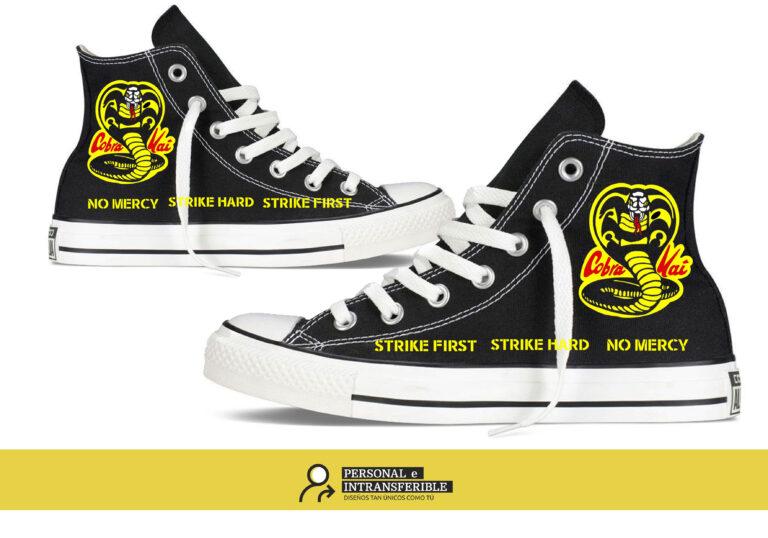 Zapatillas personalizadas Converse Cobra Kai